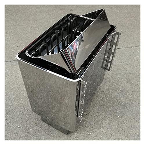 Suministros de sauna 9kw 8kw 6kw 4. 5kw 3kw Sauna Calentador Sauna Generador de vapor Uso del hogar Calefacción Horno Calefacción Habitación Equipo seco con controlador Sauna Stone( no incluido) Gene