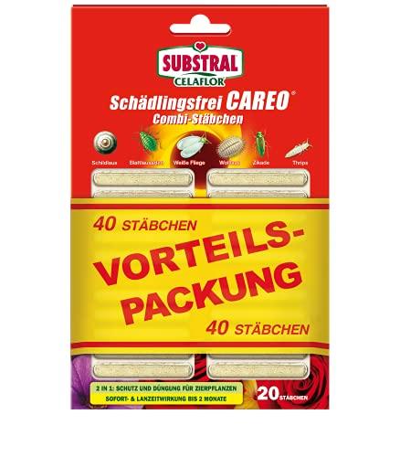 Substral Celaflor Schädlingsfrei Careo Combi-Stäbchen Insektizid, grün