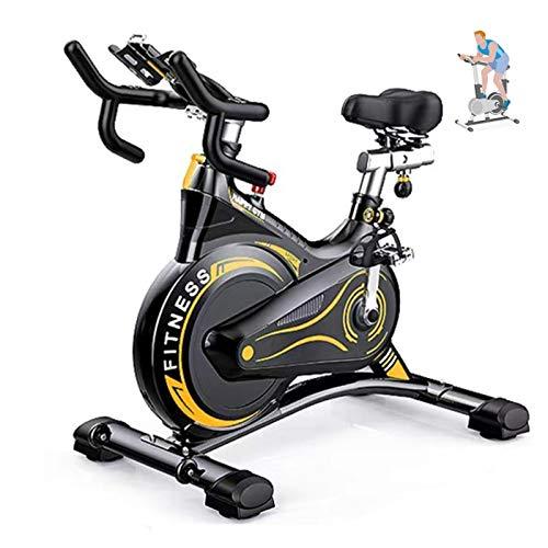 IJNBHU Bicicleta estáticas para Fitness, Bicicleta estátic
