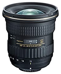 F-Mount Lens/DX Format. 16.5-30mm (35mm Equivalent) Aperture Range: f/2.8 to f/22. P-MO & Glass-Molded Aspherical Elements Three SD Ultra-Low Dispersion Elements. Multi-Layer Lens Coatings