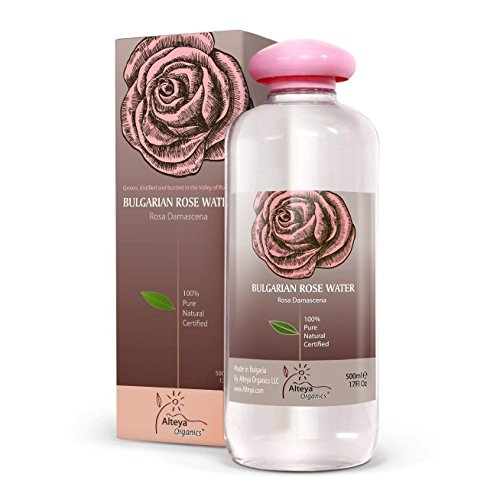 Alteya Organics Bulgarian Rose Water (From New Rose Harvest) - EXTRA LARGE, 8.5fl oz/250ml, 100% Pure, From Alteya's Bulgarian Rose Fields and Distillery