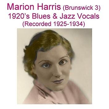 Brunswick 3 (1920's Blues & Jazz Vocals) [Recorded 1925-1934]