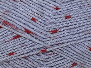 Sirdar Snuggly Spots Knitting Yarn DK 714 Raspberry Ripple - per 50 gram ball