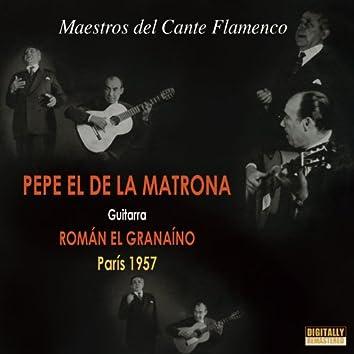Maestros del Cante Flamenco, París 1957