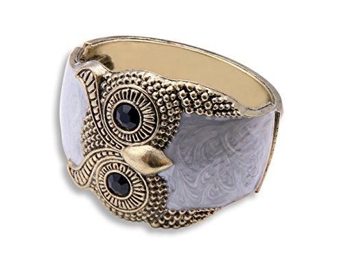 Original Enez Damen Kette Armband Armkette Choker Armreifen Eule R713a