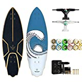 TIANDU Skateboard 32' Carver Surfboard Free, Professional Surfing Land Skateboard Longboard, City...