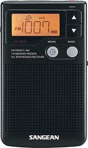 Sangean DT-200X Pocket Radio Tuner