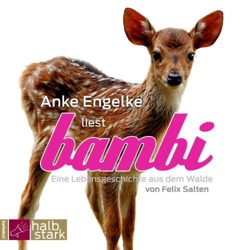 Bambi audiobook cover art