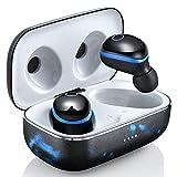 Drahtlose Wireless Kopfhörer, Bluetooth-Kopfhörer 5.0 Mini Leichte In-Ear-TWS-Kopfhörer...