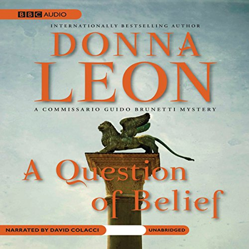 A Question of Belief audiobook cover art