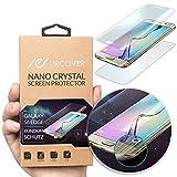 Urcover Original Nano Crystal 6H Anti Shock Screenprotector kompatibel mit Samsung Galaxy S6 Edge Plus ger&ete Bildschirmfolie (KOMPLETTE Bildschirm) Schutzfolie Anti Kratzer kristallklar