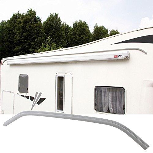 Fiamma caravan camper regengoot Drip Stop, polyvinylchloride, 300 cm, grijs