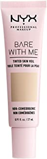 NYX PROFESSIONAL MAKEUP Bare With Me Tinted Skin Veil, Vanilla Nude, 0.9 Fluid Ounce