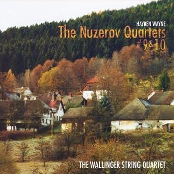 The Nuzerov Quartets No. 9 & 10