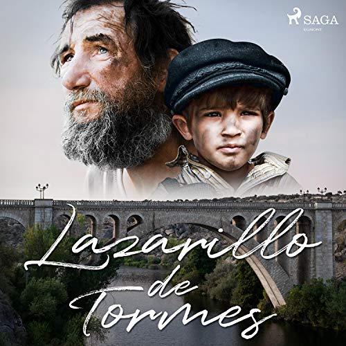 Diseño de la portada del título Lazarillo de Tormes