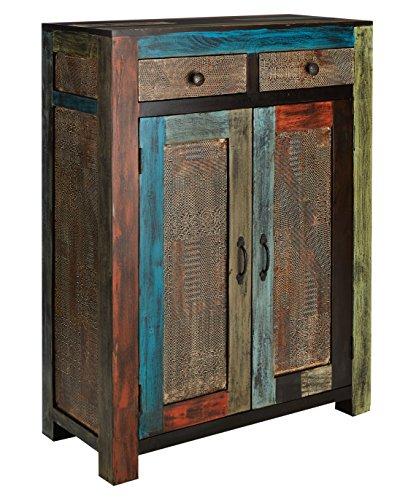 GOA 3542 Kommode, Holz, 43 x 90 x 120 cm, bunt