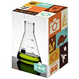 Jay Erlenmeyer Flask - Lab Scientific Decanter/Vase Flask 1000ml Set