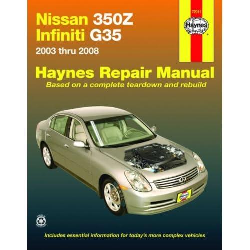 nissan 350z factory service manual