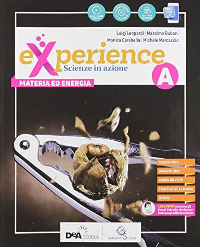 Experience. Per la Scuola media. Con e-book. Con espansione online. Con DVD-ROM. Con Libro: Scienze block: A-B-C-D