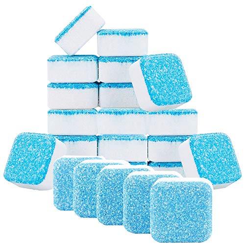 KLYJ - Detergente per lavatrici effervescenti per lavatrici, pulizia profonda, con tripla deontaminazione per bagno e cucina