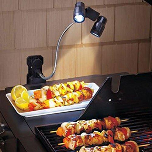 Multifunzione barbecue luci LED Clip-on doppio barbecue grill Light di Fansheng