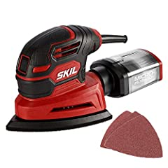 "Powerful– with a 1 amp motor and 12, 000 orbits per minute, it's able to deliver a smooth performance over a variety of sanding applications. Tough on dust– between its micro-filtration system and the 1-1/4"" dust port for vacuum attachment, you can c..."