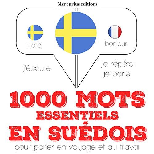 1000 mots essentiels en suédois audiobook cover art