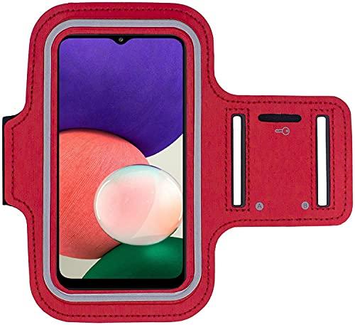 KP TECHNOLOGY Funda para Samsung Galaxy A22 5G (rojo)