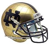 Schutt NCAA Notre Dame Fighting Irish On-Field Authentic XP Football Helmet, ALT 8