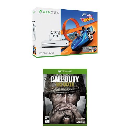 Xbox One S 500GB – Forza Horizon 3 Hot Wheels Bundle + Call of Duty: WWII