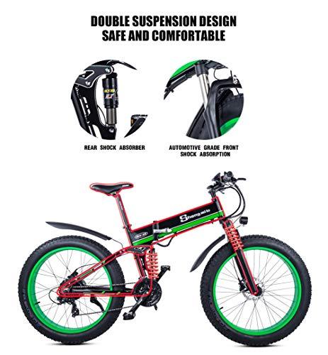 E-MTB XXCY 1000W Mountain Ebike des E-Mountainbike Bild 3*