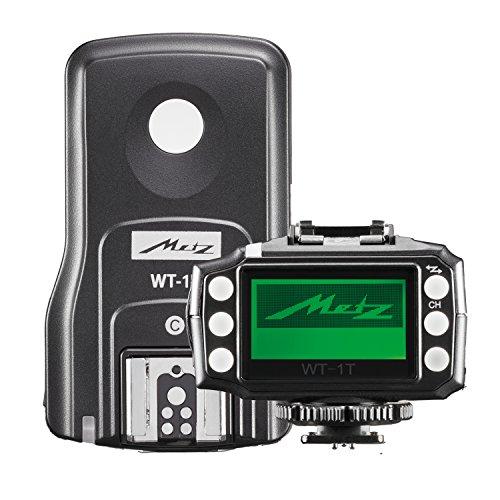 Metz WT 1–Transceiver Kit für Canon E-TTL Kamera (Kompatibel mit DSLR- oder CSC) schwarz