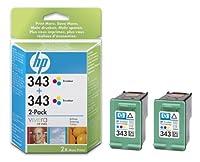 Hewlett Packard INK CARTRIDGE NO 343 - ツインパック