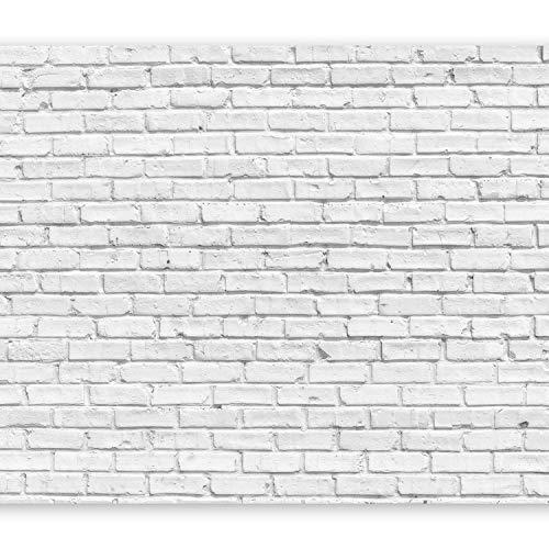 murando Fotomurales 400x280 cm XXL Papel pintado tejido no tejido Decoración de Pared decorativos Murales moderna Diseno Fotográfico Ladrillo f-B-0011-a-b
