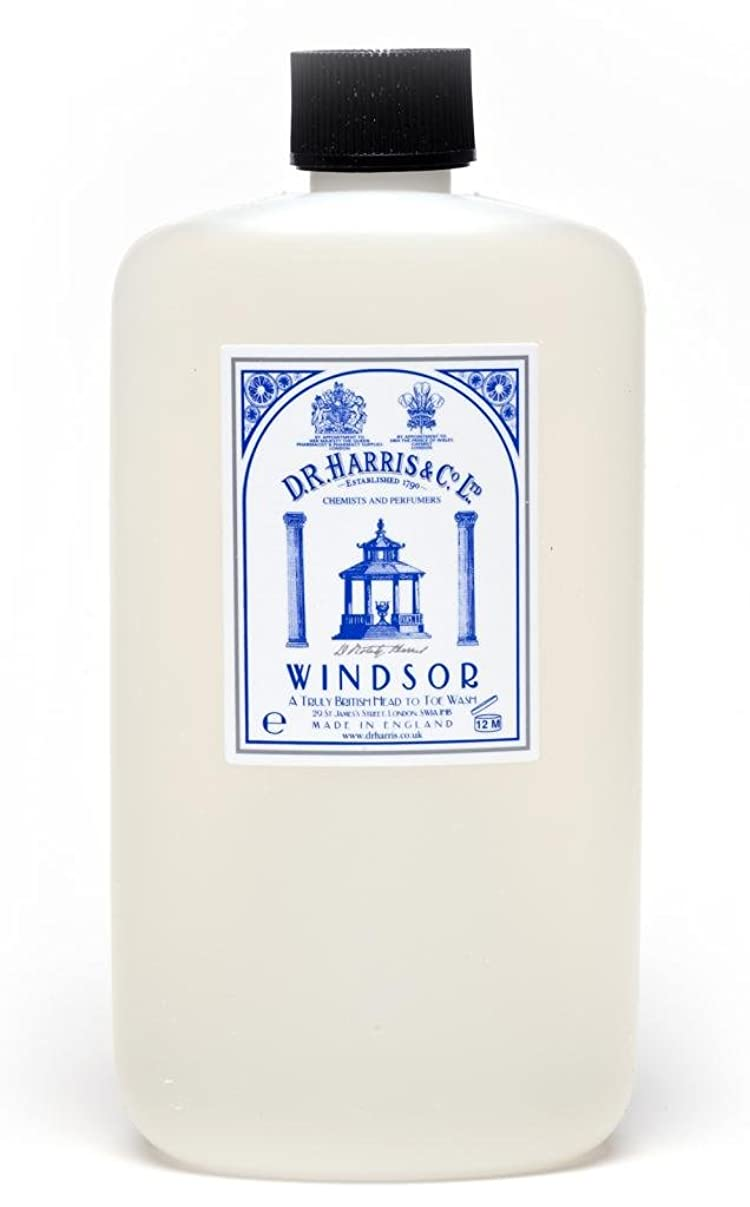 公平な抑制するソファーD.R.Harris & Co Windsor Head To Toe Body Wash 100ml