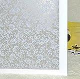 Adhesivos estáticos Lámina Decorativa esmerilada para Ventanas,...