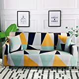 MKQB Funda de sofá elástica elástica, Funda de sofá Modular de Esquina para Sala de Estar, Funda de sofá en Forma de L Antideslizante Envuelto herméticamente NO.5 1seat-S- (90-140cm