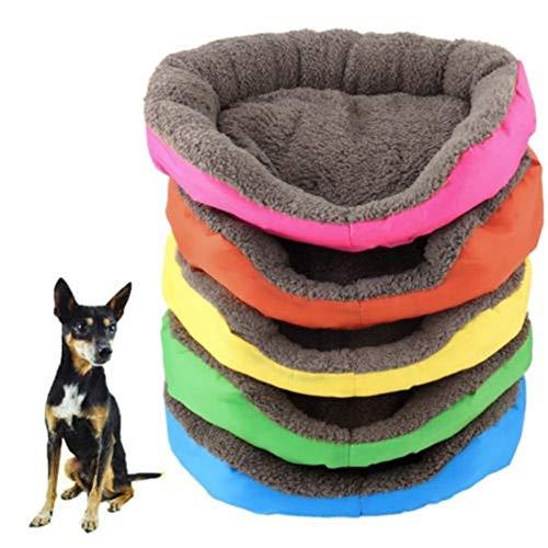 FENXIMEI Duurzame Kennel Doggy Puppy Kussen Mand Stack Pad Hot Dog Bedden/Matten Huisdier Hond Kat Bed Mat Hond benodigdheden, L, Goud