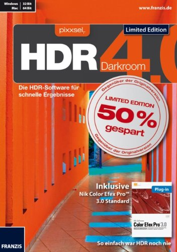 HDR 4.0 Darkroom – Limited Edition incl. Color Efex Pro 3.0