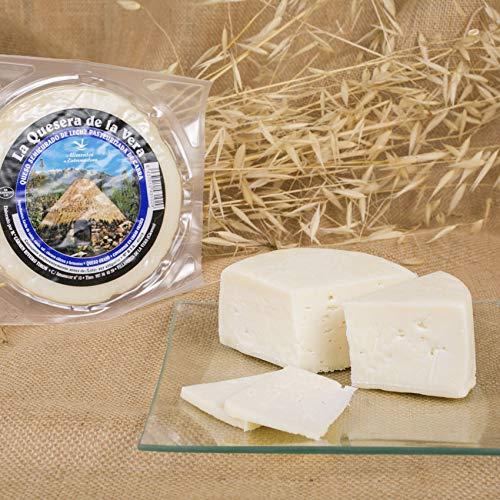 Queso de cabra al natural semicurado extremeño pieza de 650 gr aprox La Quesera de la Vera