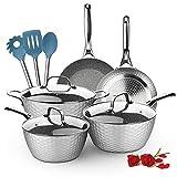 LovoIn Nonstick Cookware Set 11-Piece...