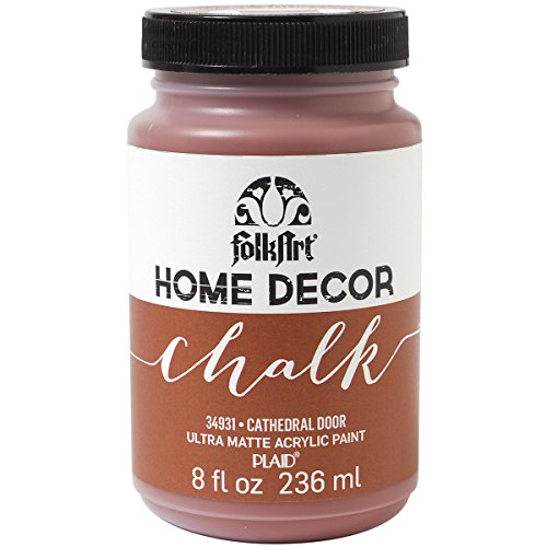 FolkArt Home Decor Chalk Furniture & Craft Paint in Assorted Colors (8 Ounce), 34931 Cathedral Door