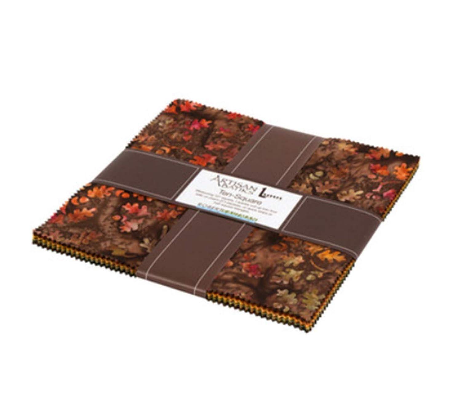 Artisan Batiks Cornucopia 10 Ten Square 42 10-inch Squares Layer Cake Robert Kaufman TEN-678-42
