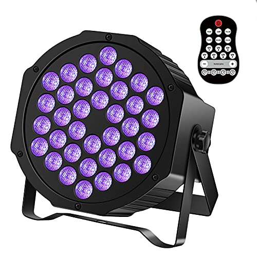 U`King Rechargeable Black Lights for Glow Party...