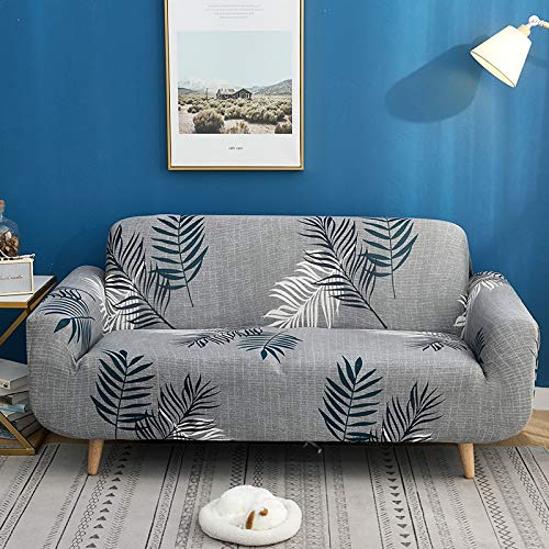 PPMP Fundas de sofá elásticas para Sala de Estar Fundas Protectoras de Muebles Funda de sofá elástica para sofá Silla A21 de 4 plazas