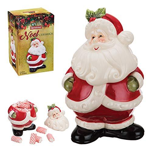 Papai Noel De Cerâmica - Art Christmas