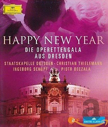 Happy New Year - Die Operettengala aus Dresden [Blu-ray]