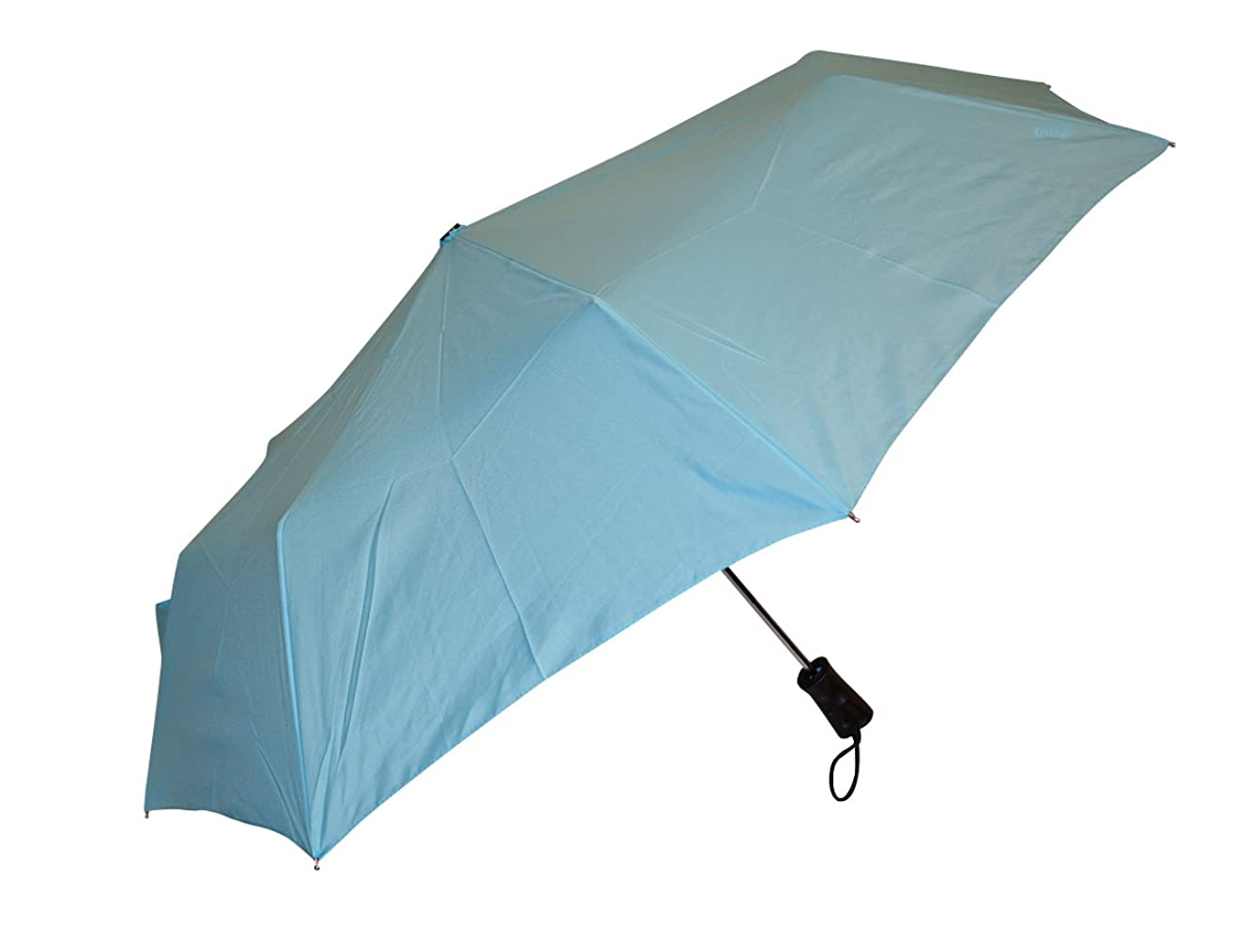 Totes Auto Open Sunguard Sun-Protection Umbrella With 42-inch Canopy Coverage and One-Handed Operation, 1 Pack