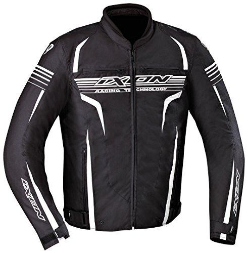 Ixon–Chaqueta Moto–Ixon Striver Negro/Blanco–XXL