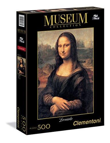Clementoni 30363.2 - Museum Leonardo: Mona Lisa, Puzzle, 500 Teile